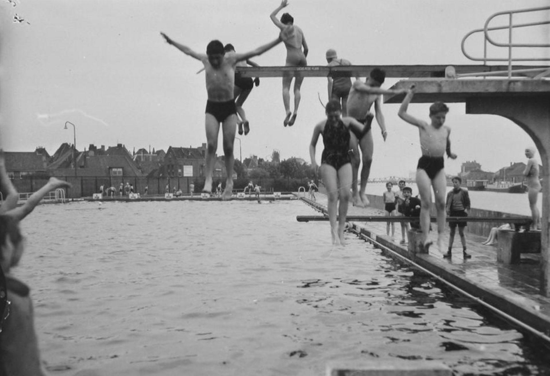 Afbeelding #000 voor het verhaal We willen alleen maar zwemmen: op zoek naar Middelburgse verkoeling, toen en nu