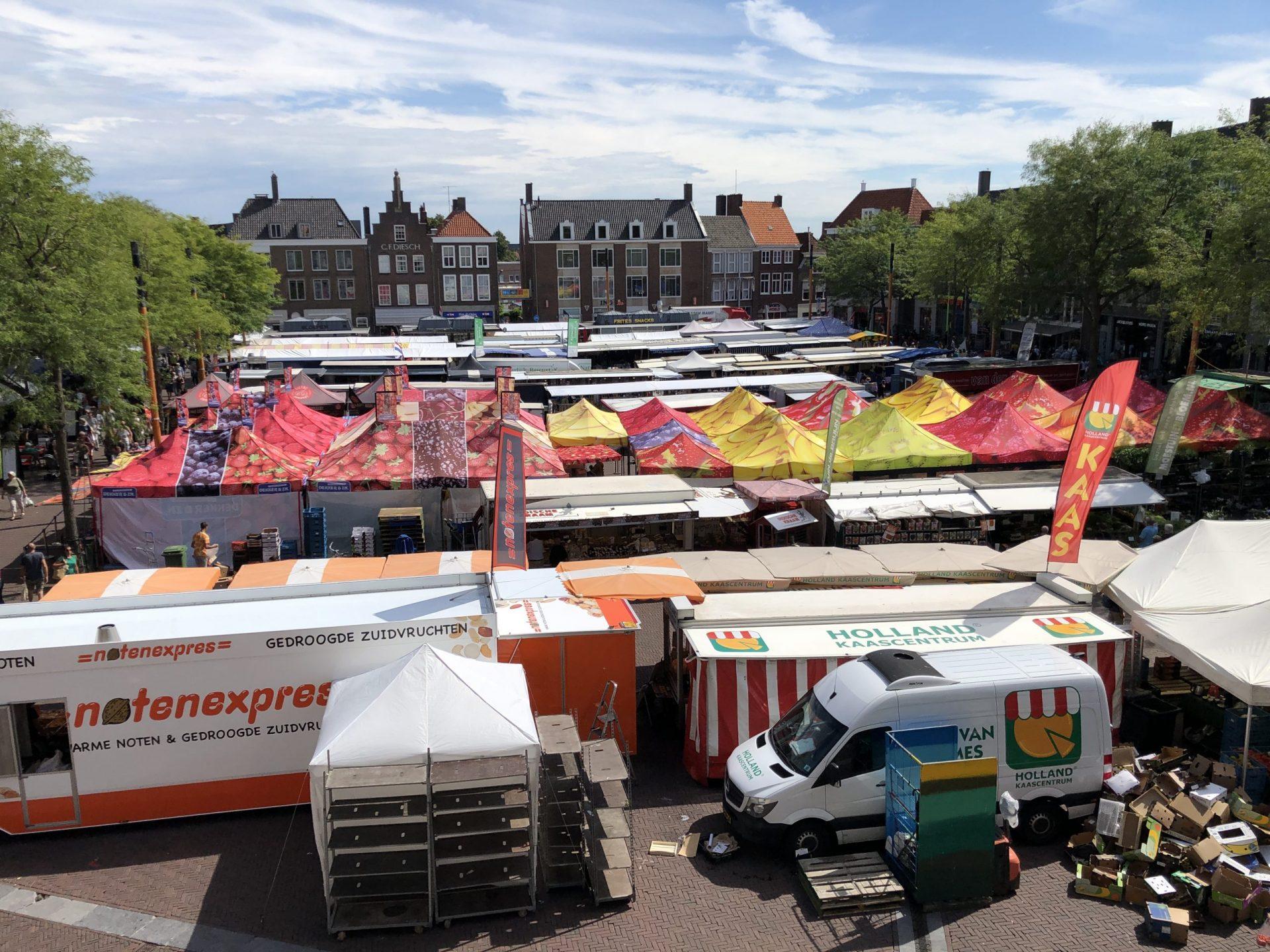 Afbeelding #001 voor het verhaal Weekmarkt Middelburg, 20 augustus 2020