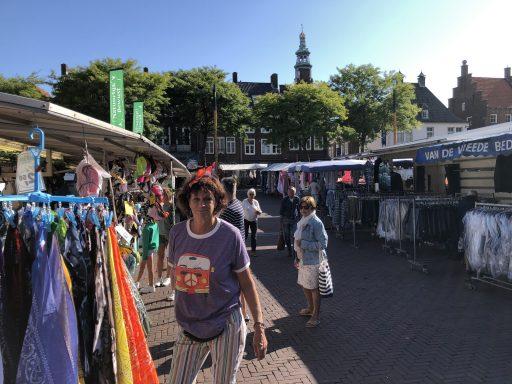 Afbeelding #000 voor het verhaal Weekmarkt Middelburg, 23 juli 2020