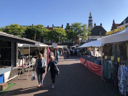 Afbeelding #001 voor het verhaal Weekmarkt Middelburg, 23 juli 2020