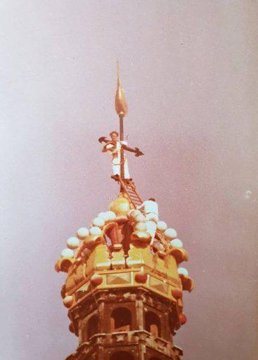 Afbeelding #000 voor het verhaal Welke Arbo? Werk aan de Lange Jan en Malle Betje in 1986
