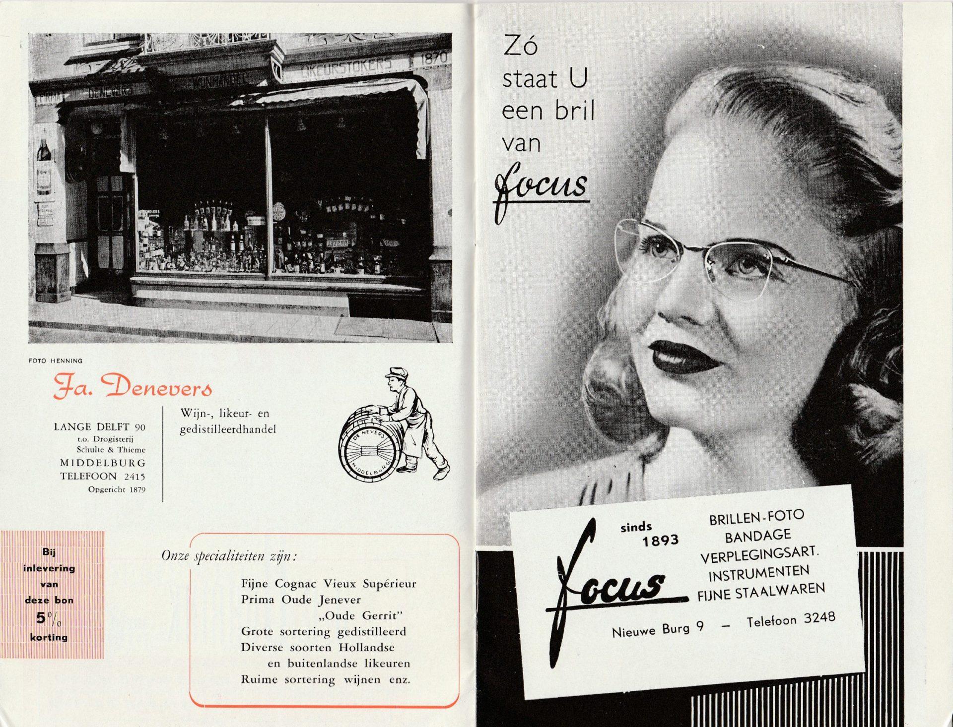 Afbeelding #000 voor het verhaal Welkom in Middelburg, omstreeks 1950