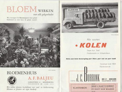 Afbeelding #001 voor het verhaal Welkom in Middelburg, omstreeks 1950