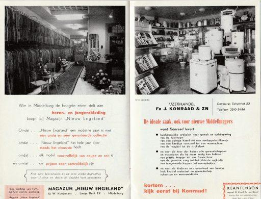Afbeelding #002 voor het verhaal Welkom in Middelburg, omstreeks 1950