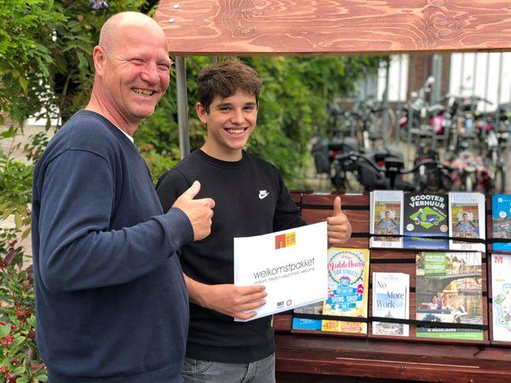 Afbeelding #000 voor het verhaal Welkomstpakketten gratis fietsenstalling Middelburg
