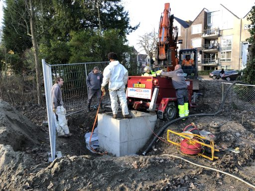 Afbeelding #003 voor het verhaal Werk aan de riolering van het Molenwaterpark