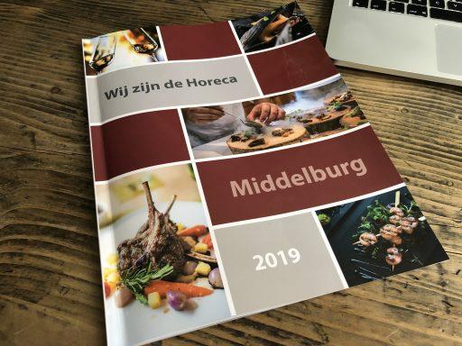 Afbeelding #000 voor het verhaal Wij zijn De Horeca! De eerste Middelburgse horecaglossy, van Drukkerij Meulenberg