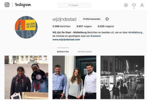 Afbeelding #000 voor het verhaal Wij zijn De Stad op Instagram, Twitter, YouTube en het eigen domein