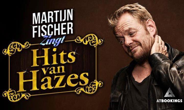 Afbeelding #000 voor het verhaal #WijzijnDeActie: vrijkaarten voor Martijn Fischer zingt Hazes in De Spot