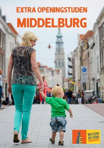 Afbeelding #000 voor het verhaal Winkelen, Weekmarkt en gratis parkeren in Middelburg op Hemelvaartsdag 2019