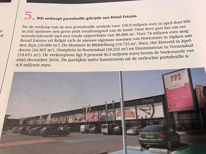 Afbeelding #000 voor het verhaal Woonboulevard Mortiere in Belgische handen