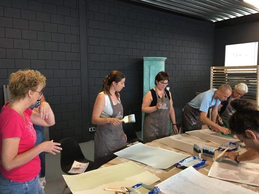 Afbeelding #003 voor het verhaal Workshops kalkverven bij Autentico Paint in Middelburg