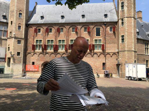 Afbeelding #000 voor het verhaal Zee(uw)post: 'Dat is mijn pri[j]s geno[e]ch.' Jacomijntje van Wouwe hoopt dat haar zoon weer gezond thuis komt uit de oorlog (16 april 1655)