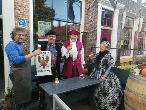 Afbeelding #000 voor het verhaal Zeeuws Blond: een 'archiefbier' van Stadsbrouwerij Middelburg