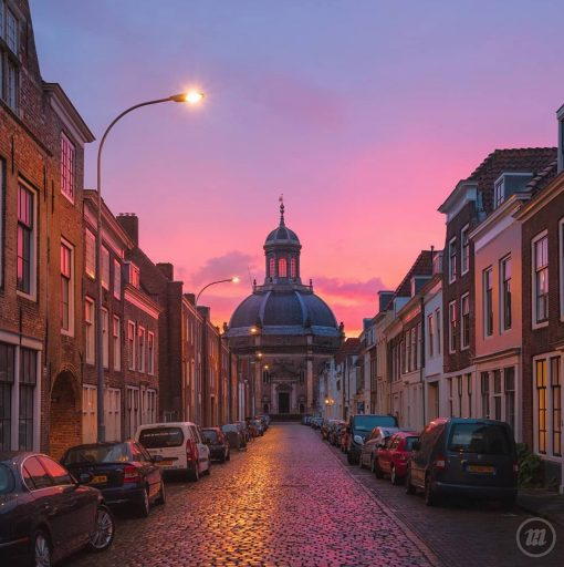 Afbeelding #000 voor het verhaal Zon, regen en Saharazand: Middelburg op Instagram, april 2019