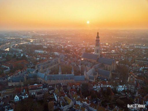 Afbeelding #000 voor het verhaal Zonsopkomst Middelburg, 14 januari 2018