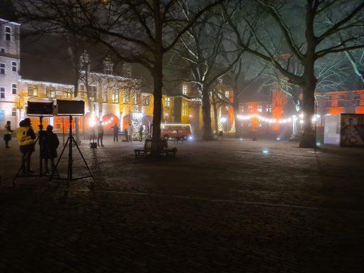 Afbeelding #001 voor het verhaal Joris' Kerstboom ook dit jaar vanuit Middelburg…in stilte