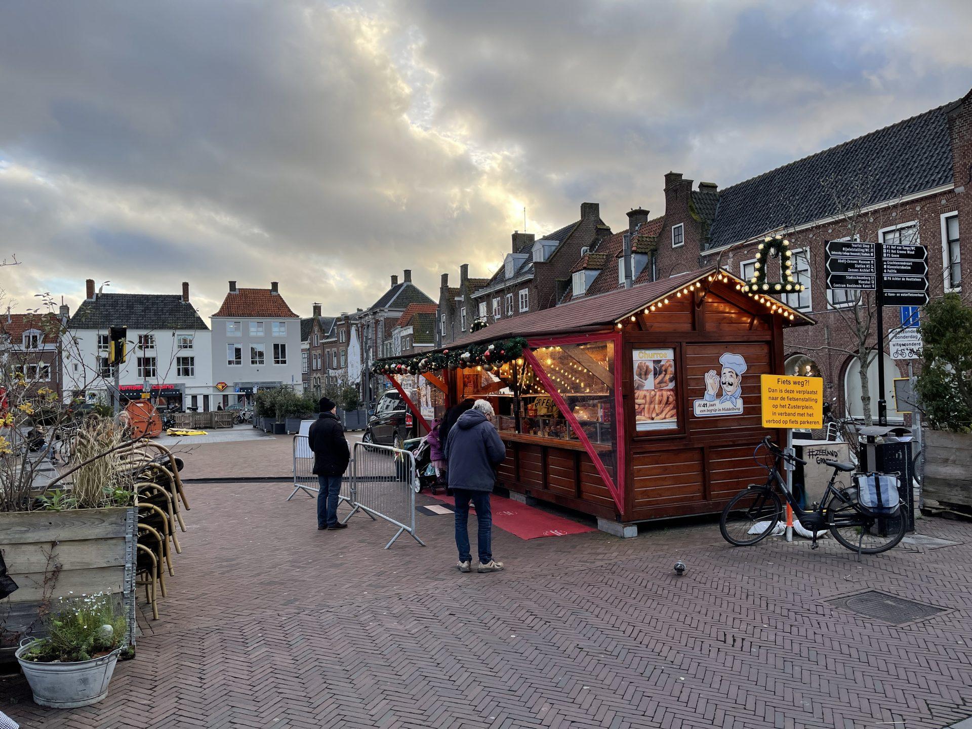 Afbeelding #016 voor het verhaal Middelburg Centrum, maandagmiddag 14 december 2020
