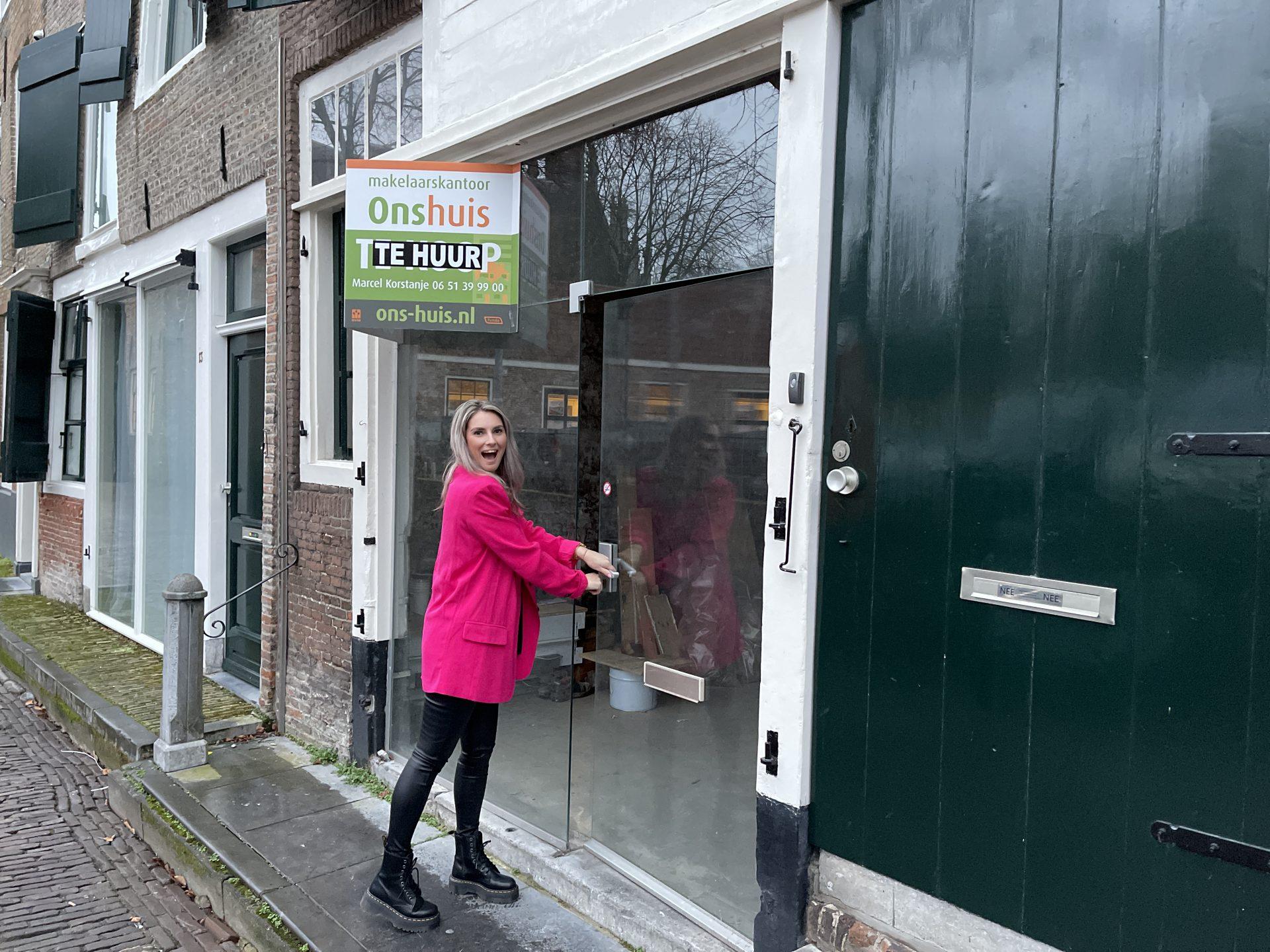Afbeelding #001 voor het verhaal Gwenny Engels opent kapsalon GWENN. in de Wijngaardstraat, in februari