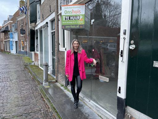 Afbeelding #002 voor het verhaal Gwenny Engels opent kapsalon GWENN. in de Wijngaardstraat, in februari