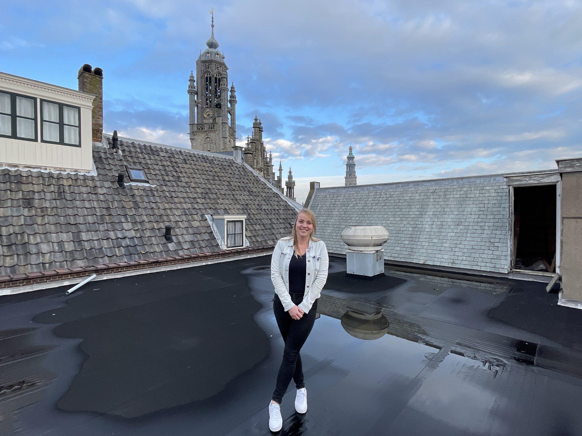 Afbeelding #000 voor het verhaal Zij zijn De Stad: Marcella de Haan