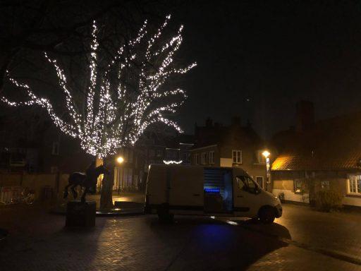 Afbeelding #007 voor het verhaal Vanaf vandaag dagelijks lichtshows vanuit de Lange Jan in Middelburg