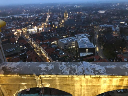 Afbeelding #008 voor het verhaal Vanaf vandaag dagelijks lichtshows vanuit de Lange Jan in Middelburg