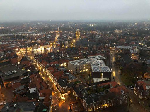 Afbeelding #009 voor het verhaal Vanaf vandaag dagelijks lichtshows vanuit de Lange Jan in Middelburg