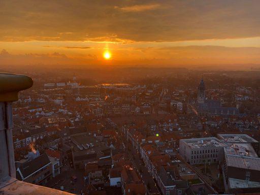 Afbeelding #010 voor het verhaal Vanaf vandaag dagelijks lichtshows vanuit de Lange Jan in Middelburg