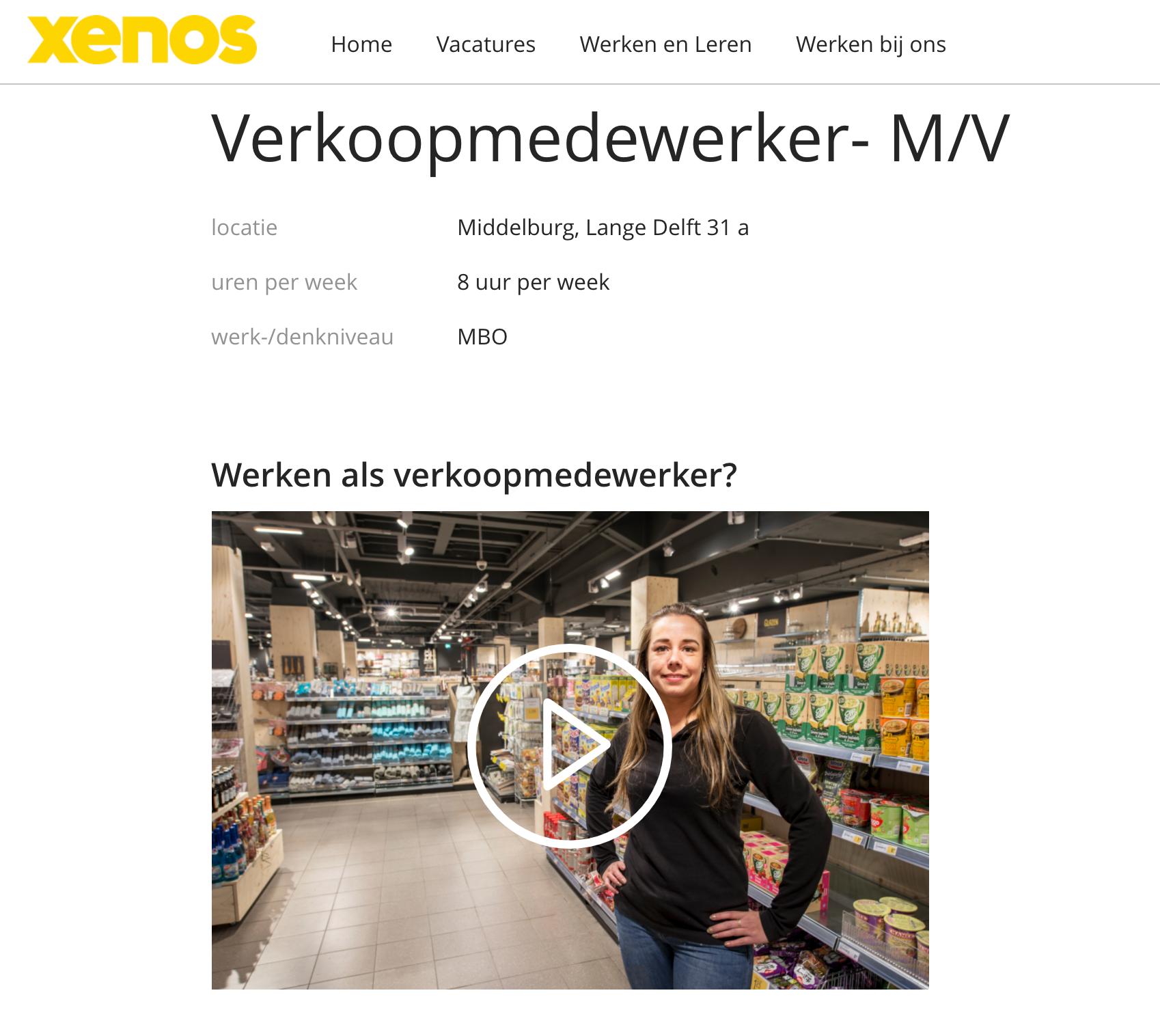 Afbeelding #001 voor het verhaal Een nieuwe bestemming voor Lange Delft 31A: Xenos komt terug naar Middelburg