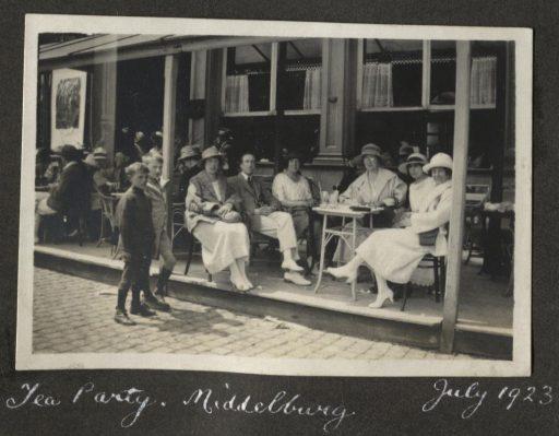Afbeelding #000 voor het verhaal Een uitstapje naar Middelburg, juli 1923