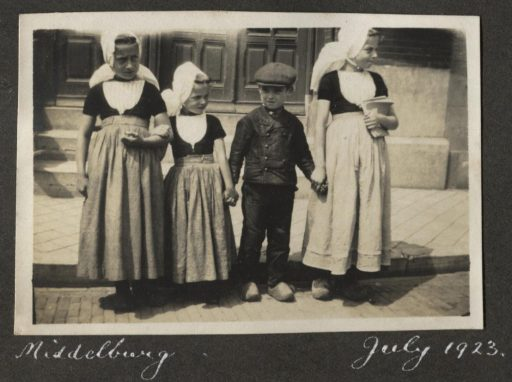 Afbeelding #007 voor het verhaal Een uitstapje naar Middelburg, juli 1923