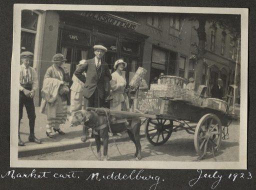 Afbeelding #011 voor het verhaal Een uitstapje naar Middelburg, juli 1923