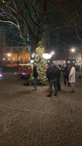 Afbeelding #003 voor het verhaal Joris' Kerstboom ook dit jaar vanuit Middelburg…in stilte