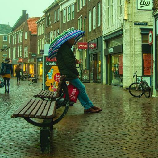 Afbeelding #002 voor het verhaal Luchtige lichtjes in de lange leegte: Middelburg op Instagram, december 2020