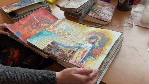 Afbeelding #001 voor het verhaal De mooie papieren wereld van Marit Barentsen