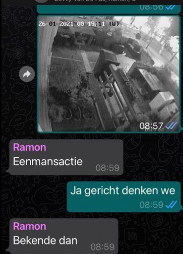 Afbeelding #004 voor het verhaal Avondklokstilte in Middelburg: maar we hebben wel gelachen