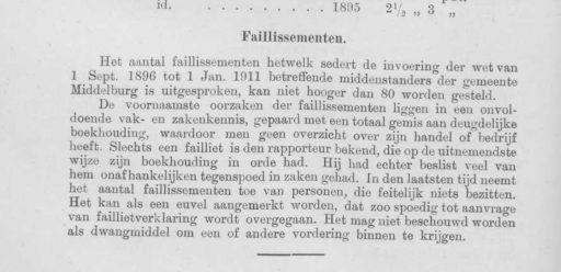 Afbeelding #003 voor het verhaal Cijfers en weetjes over de middenstand en economie van Middelburg in 1918