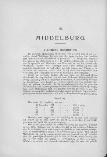 Afbeelding #004 voor het verhaal Cijfers en weetjes over de middenstand en economie van Middelburg in 1918