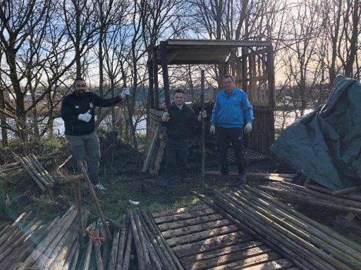 Afbeelding #000 voor het verhaal Mooi: Team Eiggenwijzz helpt De Belt Middelburg..en vice versa
