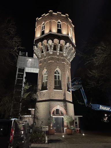 Afbeelding #001 voor het verhaal Watertoren Middelburg nu ook in de schijnwerpers