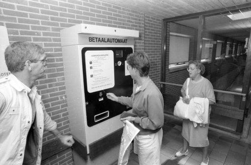 Afbeelding #002 voor het verhaal Werken bij Parkeerbeheer in Middelburg in de jaren negentig