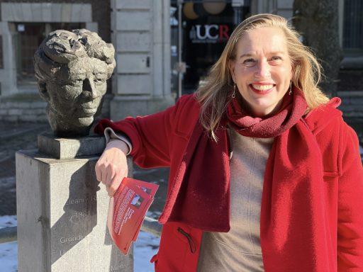 Afbeelding #002 voor het verhaal Zij zijn De Stad: Barbara Oomen