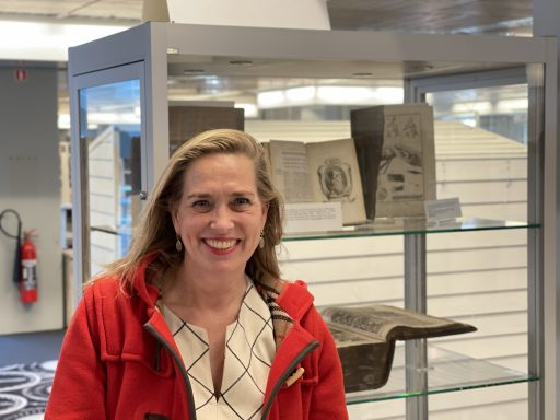 Afbeelding #001 voor het verhaal Barbara Oomen over het belang van lezen en bibliotheken