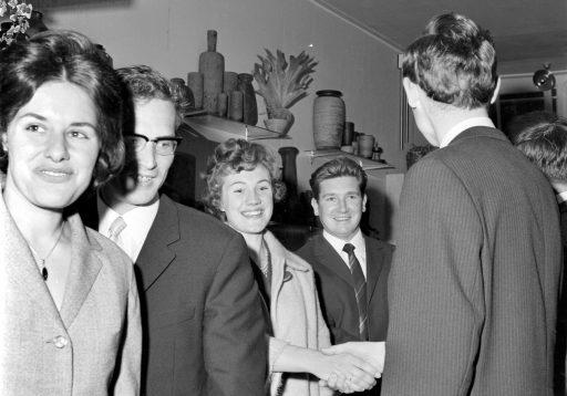 Afbeelding #004 voor het verhaal De opening van Bloemisterij Dagelinckx in de Langeviele in Middelburg, 1965