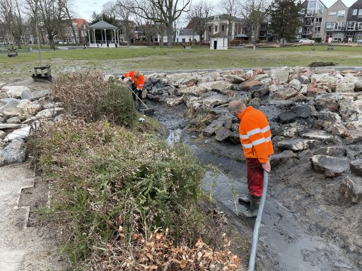 Afbeelding #000 voor het verhaal Paddenwaterverversing in Park Molenwater