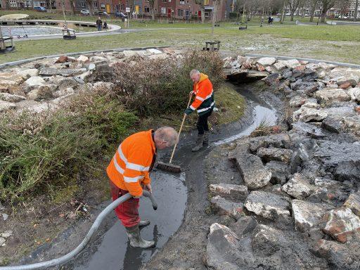 Afbeelding #002 voor het verhaal Paddenwaterverversing in Park Molenwater
