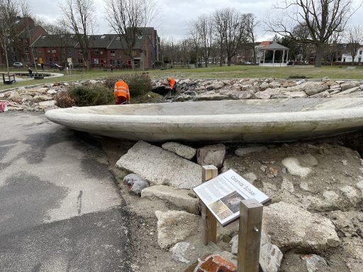 Afbeelding #004 voor het verhaal Paddenwaterverversing in Park Molenwater