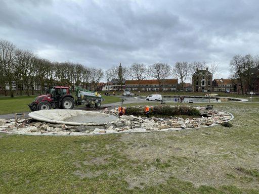 Afbeelding #006 voor het verhaal Paddenwaterverversing in Park Molenwater