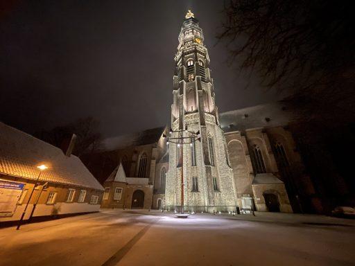 Afbeelding #001 voor het verhaal Sneeuwnacht Middelburg 7 februari 2021